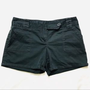 The Limited Drew Fit Cotton Charcoal Grey Shorts